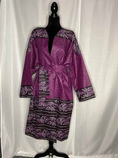 Oversized Kimono | Grape Vine