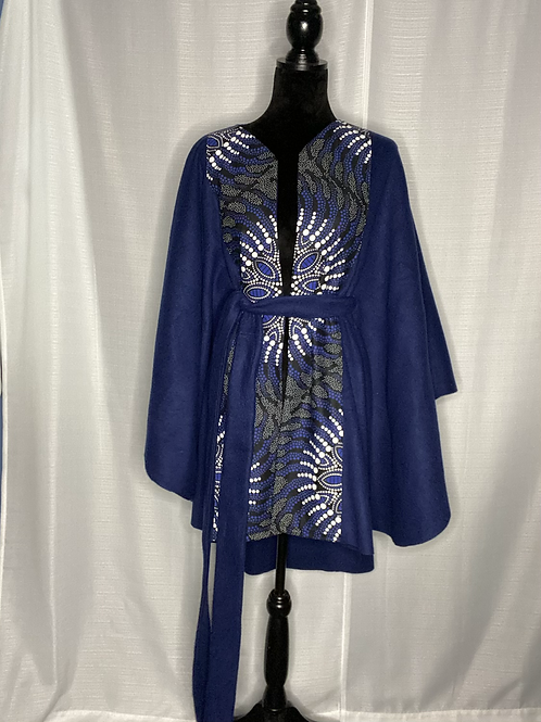 Blue Sparkle Cape
