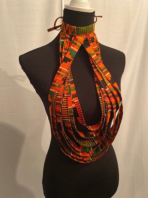 African Pride Teardrop Necklace