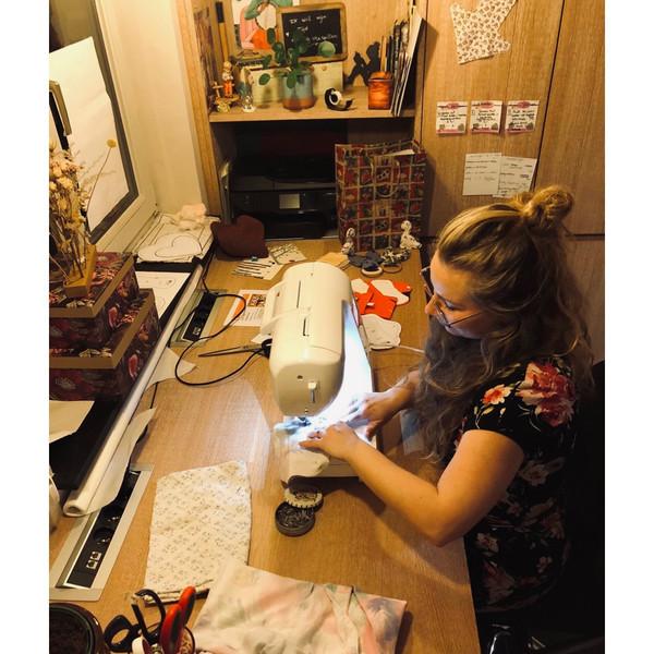 Creatievelynn aan het werk