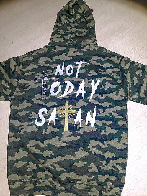 Not Today Satan sweatshirt/ hoodie