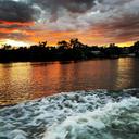Breathtakingly Beautiful Sunset on the Hudson River