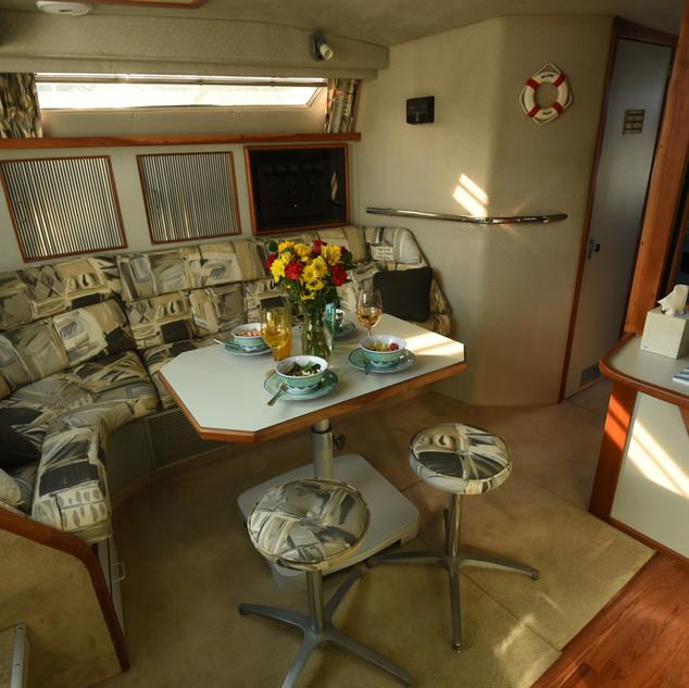 Cabin table set .JPG
