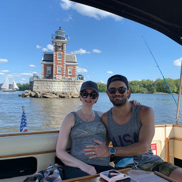 Baby's first yacht ride!