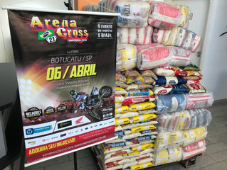 Sucesso em Botucatu, Arena Cross promoveu grande ação social e foi visto por 1 milhão de pessoas