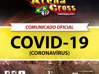 NOTA OFICIAL: Arena Cross tem sua estreia adiada por conta do Covid-19