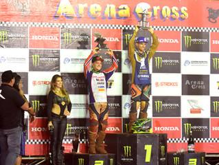 Em Lençóis Paulista, Jean Ramos conquista o título do Arena Cross 2017