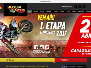 Arena Cross lança seu novo site para temporada 2017 da competição
