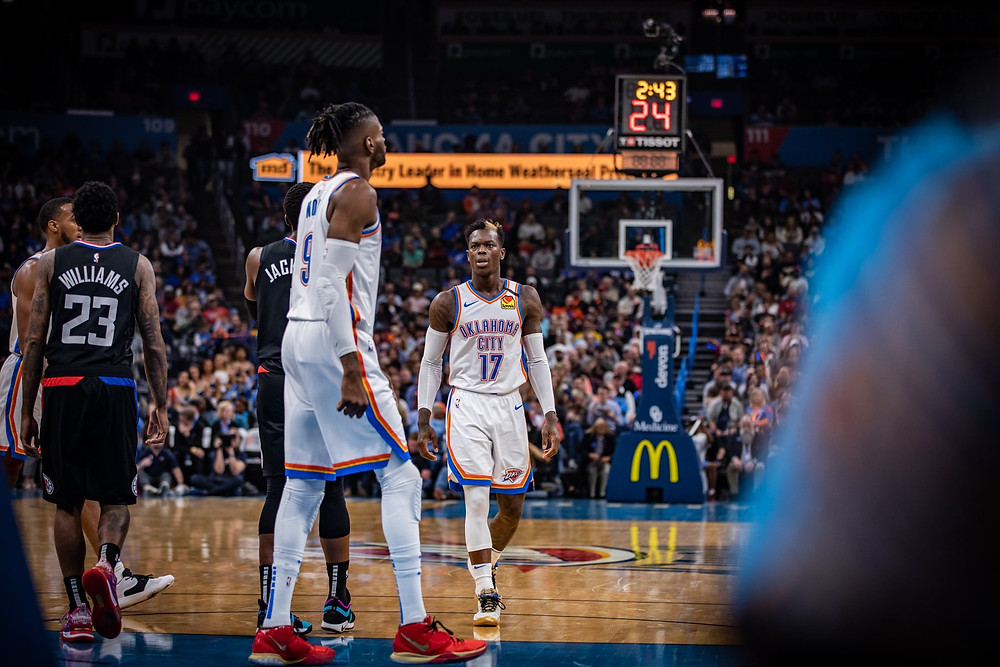 Thunder_Clippers_Around_the_game