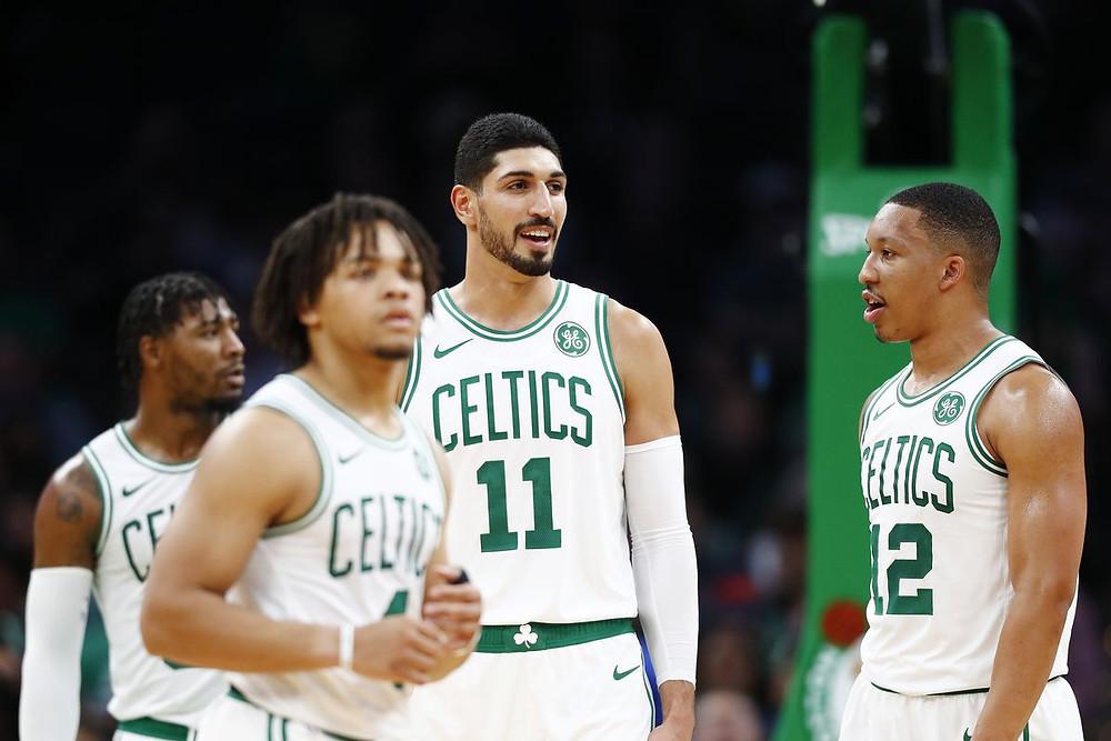 Boston Celtics Enes Kanter Around the Game NBA