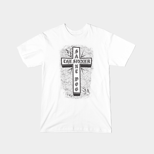 "Saint Dog ""The Sinner"" T-Shirt (White)"