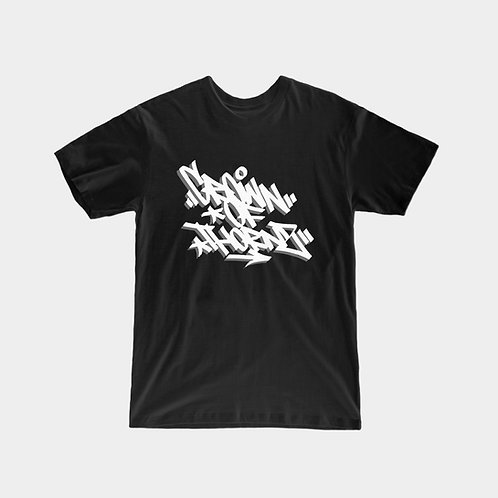 Crown Of Thorns Logo T-Shirt (Black)