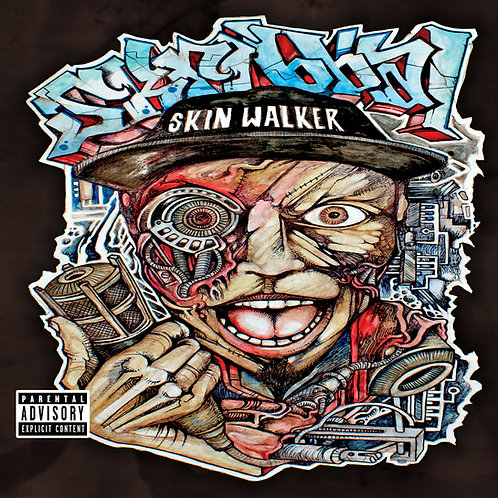 """Skribbal """"Skinwalker"""" CD"""