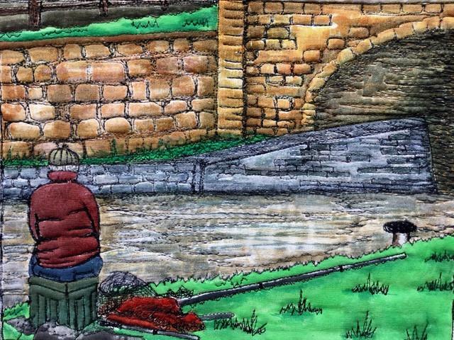 Gill Price the fisherman
