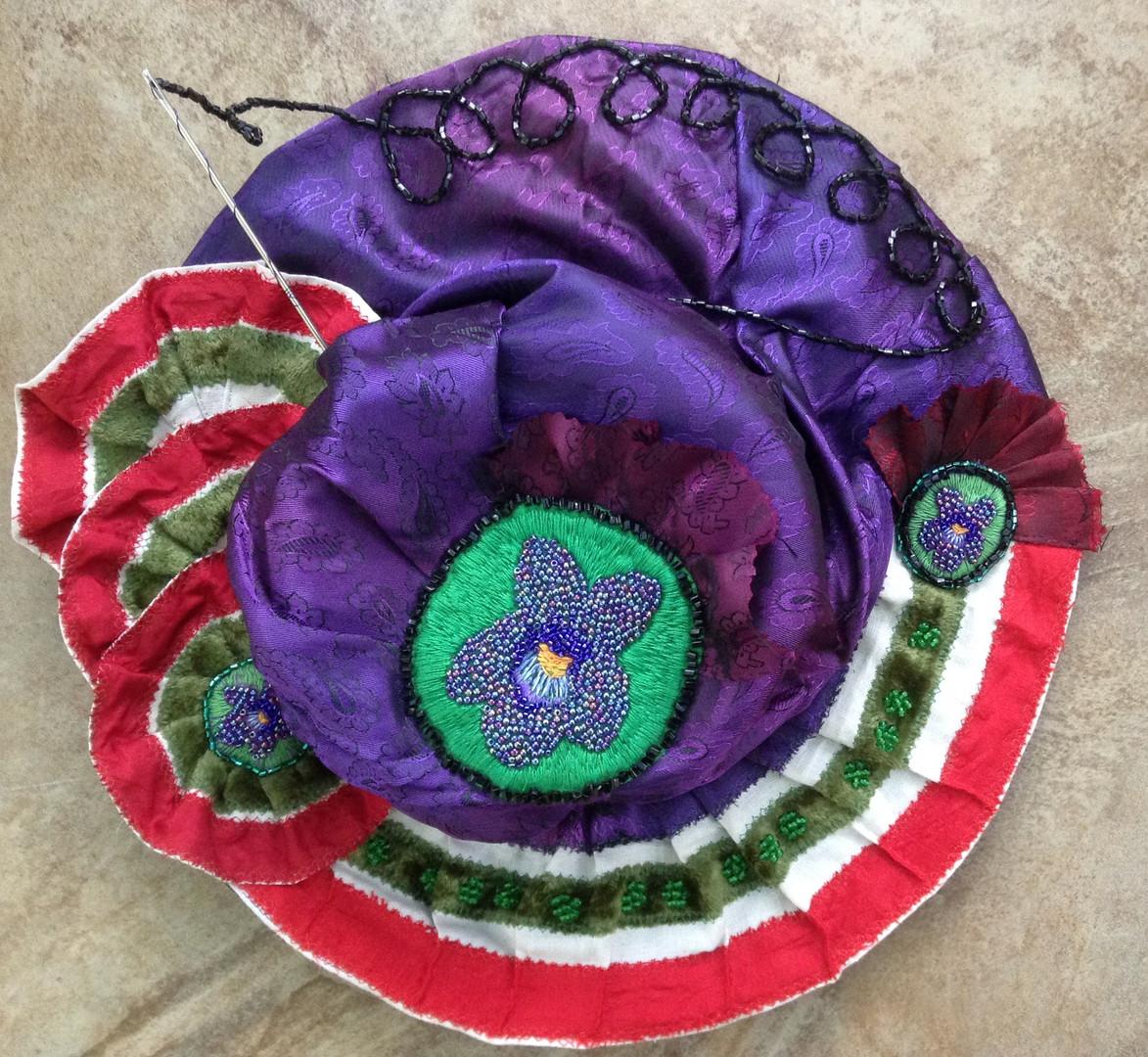 Claire Cooper Walsh Suffragette hat