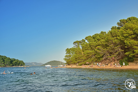 Strandbar in Kroatien am Meer