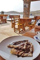 Crêpe zum Frühstück Restaurant Kroatien Kornaten