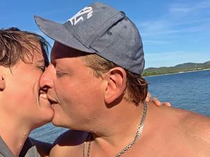 Aussteiger Vanlifer Paar Kroatien Meer