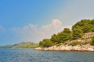 Insel in den Kornaten Kroatien