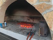 Steinofengrill in Kroatien auf Campingplatz