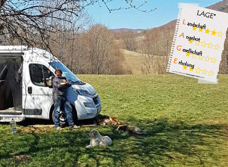 UgH in einem Tiershelter in den Bergen Kroatiens