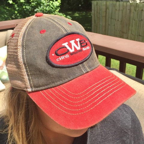 CWB Legacy Hat-vintage black and red