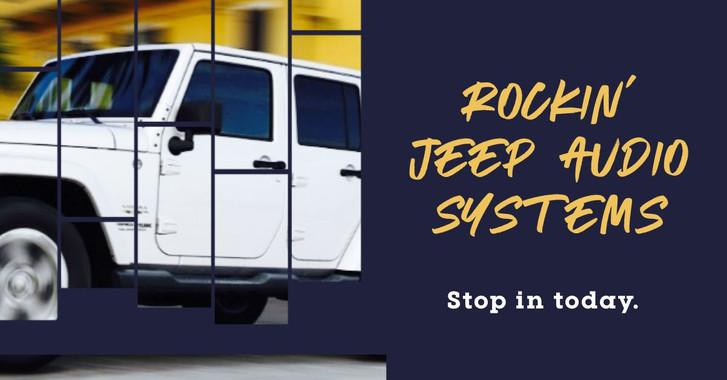 jeep wrangler audio systems near me