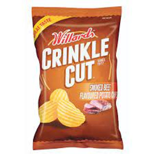 Crinkle Cut Smoked Beef