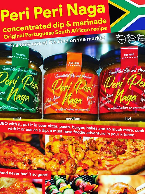 Peri Peri Naga (Concentrated Dip and Marinade)