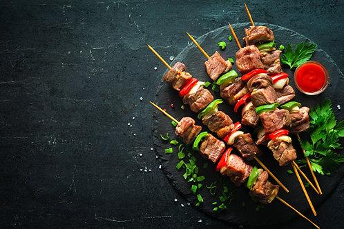 Rump Steak Kebabs (Sosaties)
