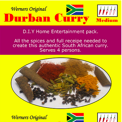 Werner's Curry Spices
