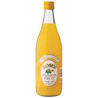 Rose's Passion Fruit Tonic Cordial