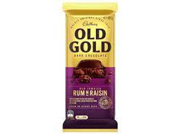 Old Gold Rum and Raisin