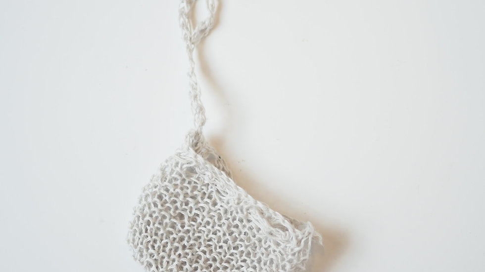 Hand Knit Soap Pouch