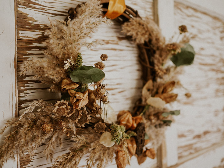 Fall Wreath: Large