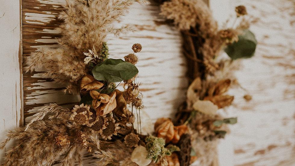 Fall Wreath: Large