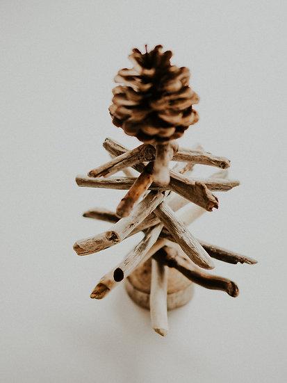 "6"" Driftwood Christmas Tree by Shane Hope"