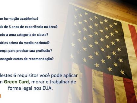 REQUISITOS PARA UMA PETIÇÃO DO GREEN CARD