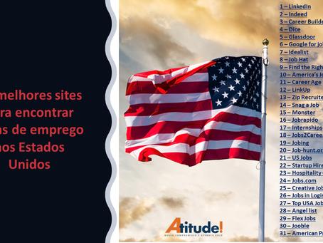 Melhores sites de empregos nos Estados Unidos.