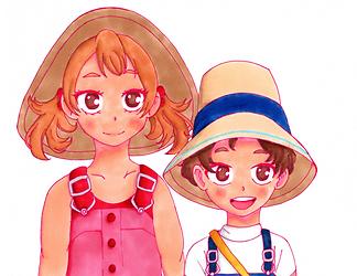 Mahoro and Katsuma .png