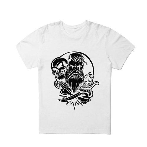 Camiseta Under Beard Old School - estampa preta