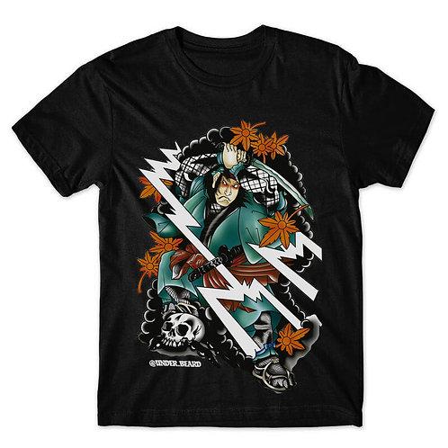 Camiseta Under Beard Samurai