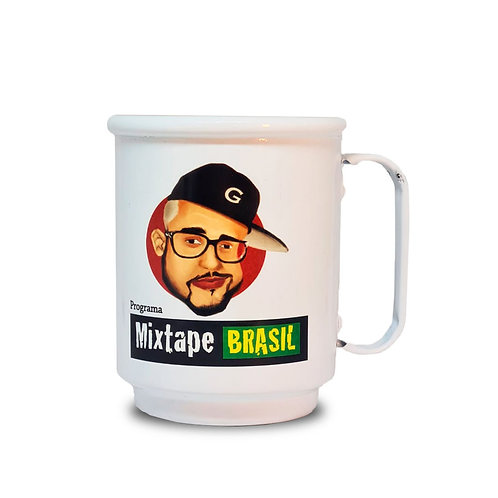 Caneca branca Stage 1: Mixtape Brasil