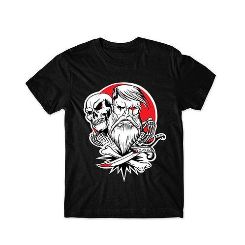 Camiseta Under Beard Old School