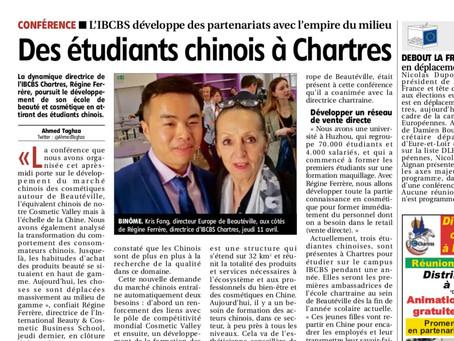Bientôt des étudiants chinois à IBCBS