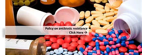 Policy on antibiotic resistance