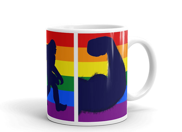 Gay Bear and Sasquatch Mug