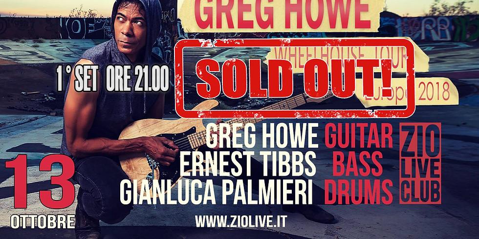 SOLD OUT 1° SET Greg Howe