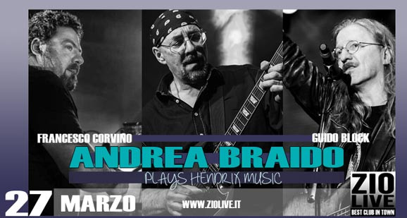 ANDREA BRAIDO plays Hendrix
