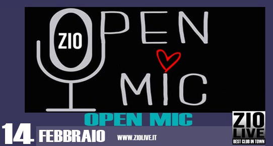 LOVE SONGS - OPEN MIC